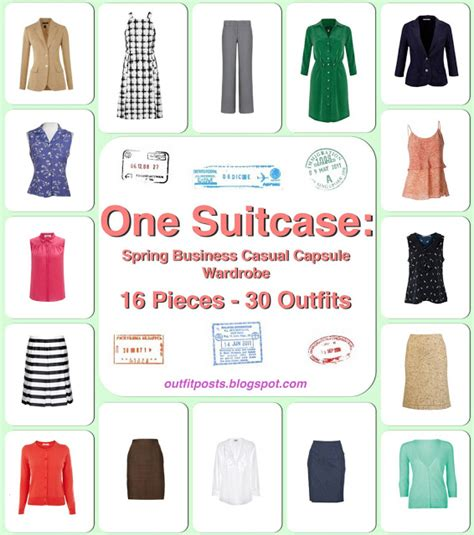 Vacation Capsule Wardrobe by One Suitcase European Vacation Capsule Wardrobe