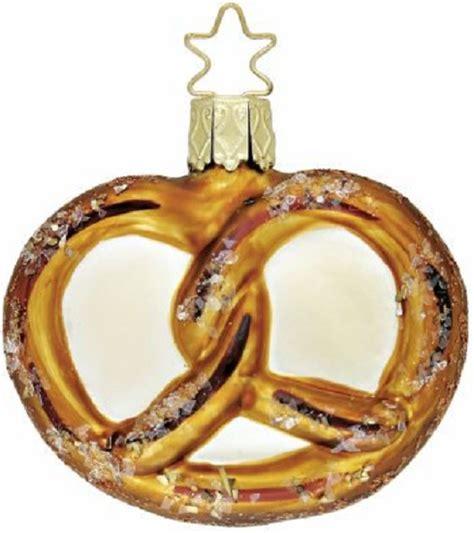 inge glas heirlooms oktoberfest pretzel german blown glass