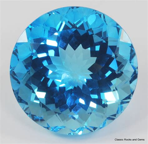 xlblue topaz faceted gemstone blauer topas facettierter