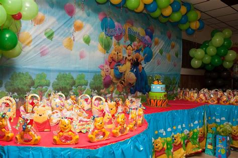 Winnie The Pooh Decorations by Winnie The Pooh 1st Birthday Decorations Image