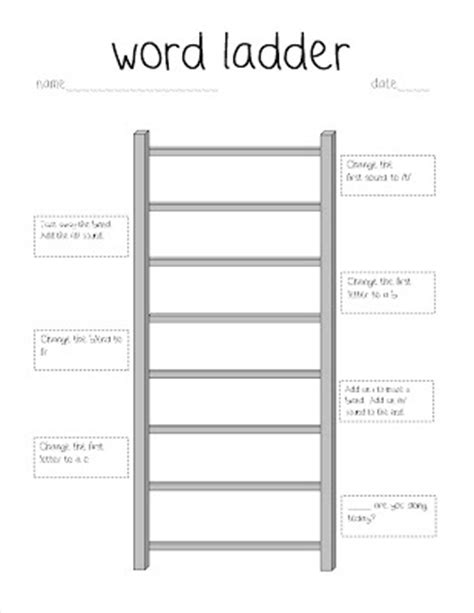 Word Ladder Worksheets by Word Ladder Worksheets For Grade Word Puzzles