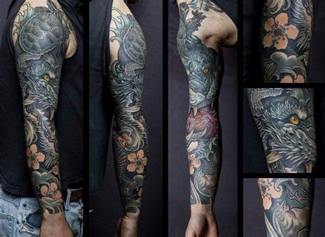 tattoo arm top top 100 best sleeve tattoos for men cool designs and ideas