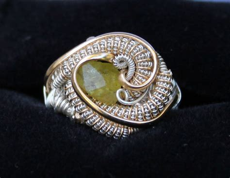 How To Make Jewelry Out Of Wire - chrysoberyl wire wrapped ring heady wire wrap ring size