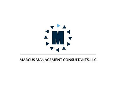 design management consultants logo design for marcus management consultants llc by vinh