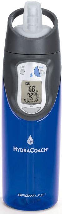 hydration calculator per day5040101010104030504021090900 01 bookofjoe hydracoach intelligent interactive water bottle
