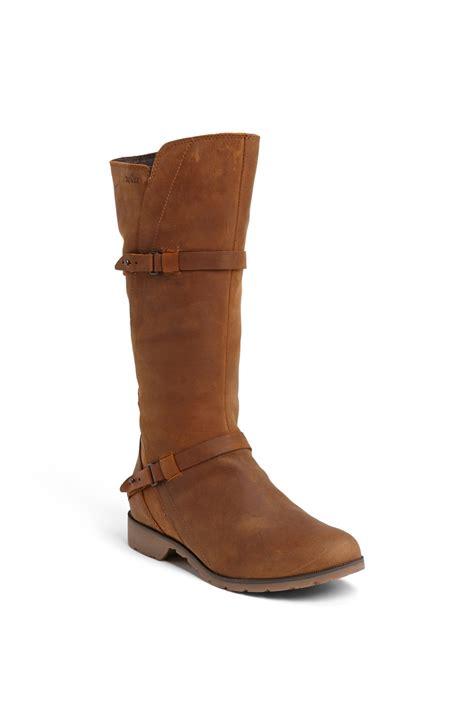 teva boots de la vina teva de la vina waterproof boot in brown bison