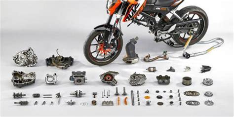 Sparepart Ktm Duke 200 ktm spare parts kits