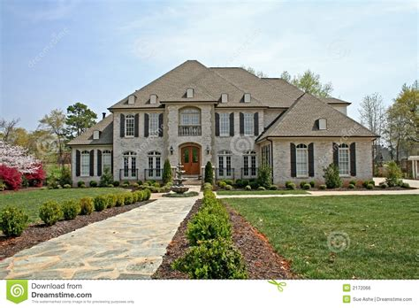 american house luxury american house royalty free stock image image 2172066