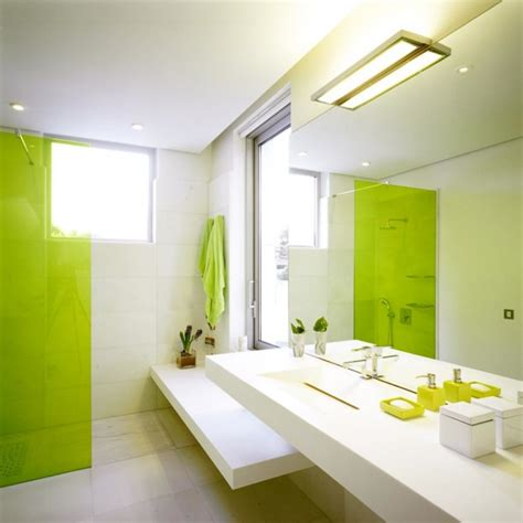 bathroom ideas green and white stylish and refreshing lime bathrooms that will fascinate you