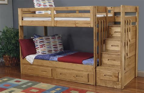 Bunk Bed With Stairs Plans Solid Wood Bunk Beds Rs Floral Design Retractable Solid Wood Bunk Beds Ladder