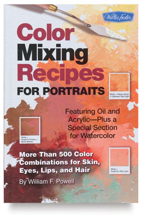 color mixing recipes for portraits blick materials