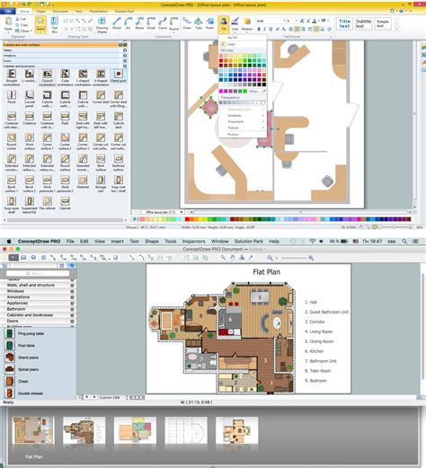 house blueprint software electrical and telecom plan software
