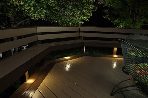 Recessed Patio Lighting Recessed Patio Lights Recessed Patio Lights 6751 8 Pack Blue Solar Power Recessed Deck Dock