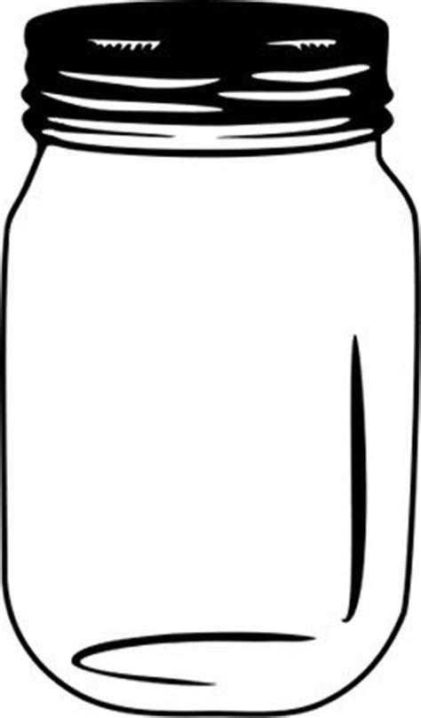 free mason jar tempplates an ink drawing of a mason jar