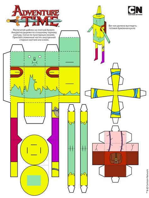 Adventure Time Paper Craft - 138 best adventure time papercraft images on