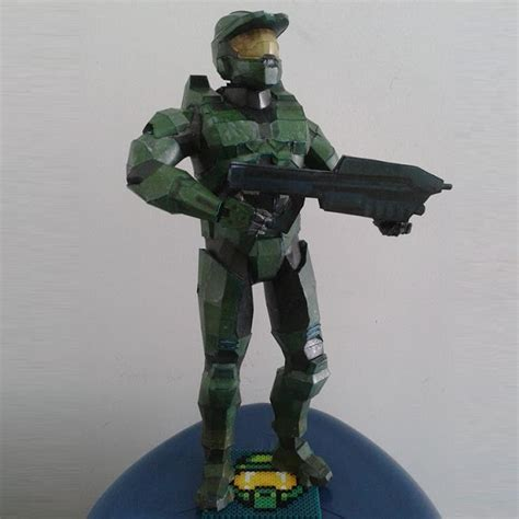 Halo Papercraft - papermau halo combat evolved 117 quot master chief