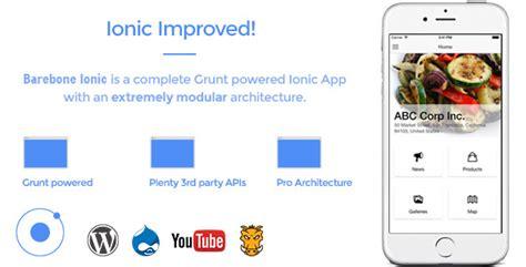 ionic admob tutorial barebone ionic full application