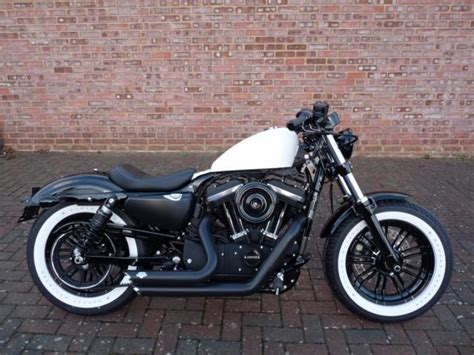 by brock cardiner harley forty eight custom motorcycle by rough crafts harley davidson sportster xl1200x forty eight 2017 custom