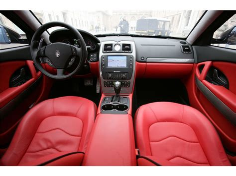 maserati truck interior 2008 maserati quattroporte prices reviews and pictures