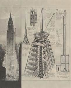 Chrysler Building Construction The Skyscraper Museum Times Square 1984 The Postmodern