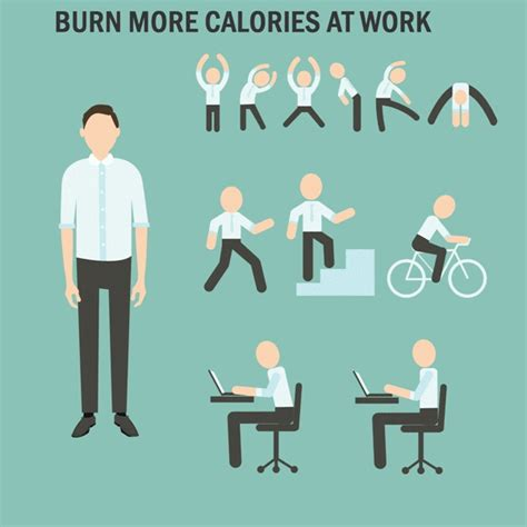 5 sneaky ways to burn calories at work fitness
