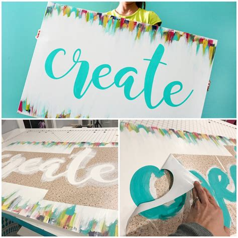 create canvas collage create painted canvas sugar bee crafts