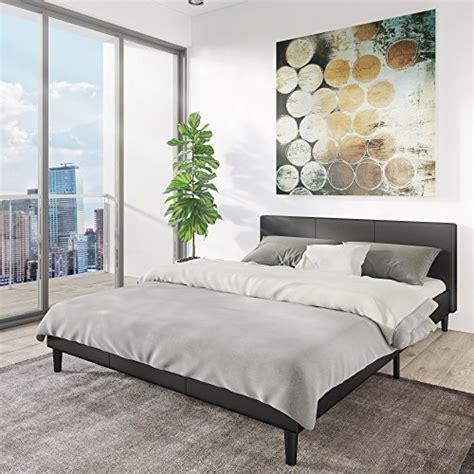 low headboard bed manhattan bed frame modern style low profile headboard platf