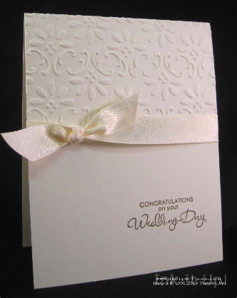 easy to make wedding cards easy wedding card ink it up with card