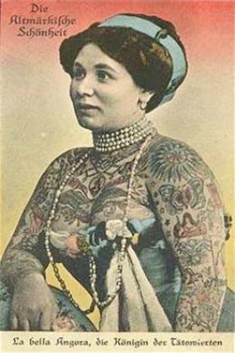 tattoo lady history women s ink tattooed women the early years