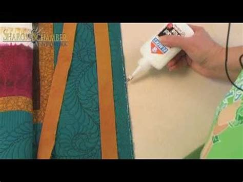 Applying Quilt Binding by Schamber Binding