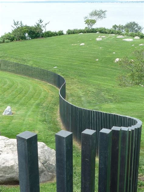 minimalist fence designs ideas fence aluminium garden design ideas 73 garden fence ideas for protecting your privacy in the yard