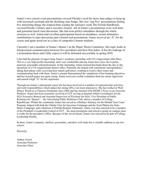 Letter Of Recommendation Ucf sle reference letter for school cover letter