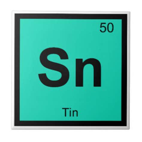 Periodic Table Sn sn tin chemistry periodic table symbol element tile