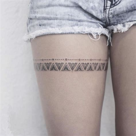 12 pretty and meaningful thigh tattoos thigh tattoos