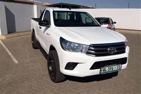 Toyota 4 X 4 2016 Toyota Hilux 2 4gd 6 4x4 Sr Single Cab Bakkie