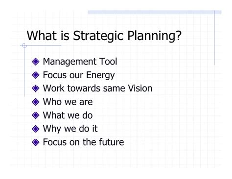focus planning template template 4 strategic planning outline