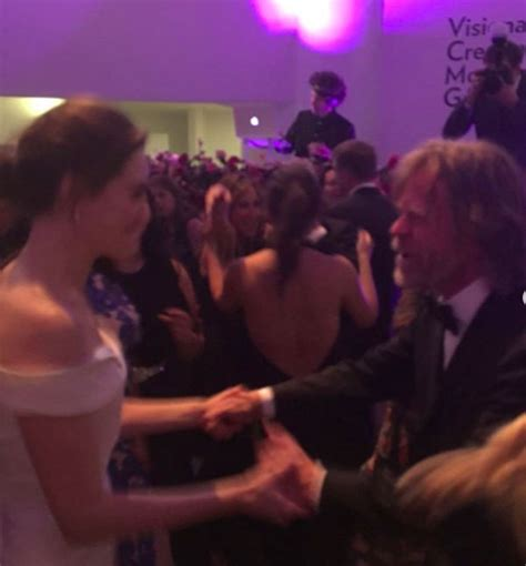 emmy rossum and william macy emmy rossum william h macy s wedding dance see