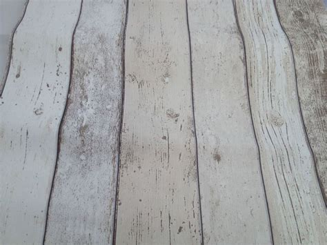 shabby chic wood wallpaper realistic shabby chic light white wood distressed panel effect
