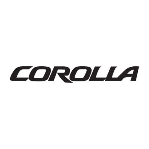 logo toyota corolla corolla logo vector in eps ai cdr free