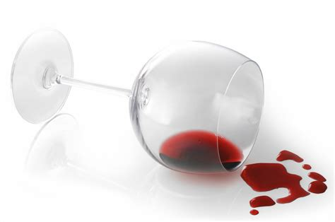 glass spilling spilled wine