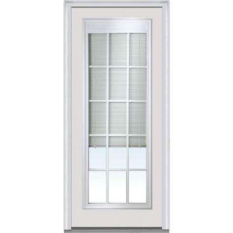 Front Door Blinds by Mmi Door 36 In X 80 In Blinds With Gbg Left