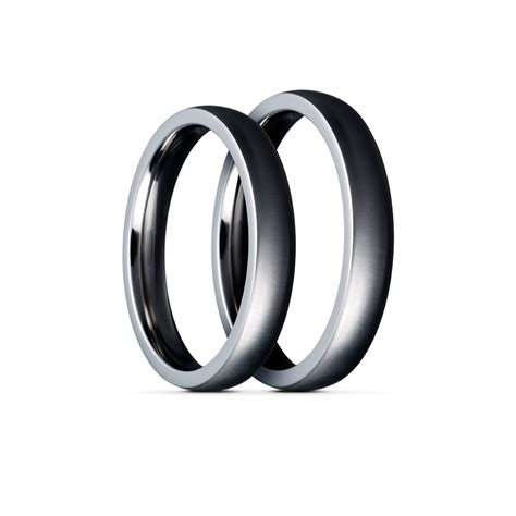 Titan Ring by Titanium Ringe Fingerringe Nikkelallergi Forlovelsesringe