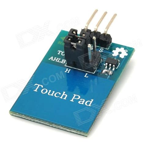 wxm05 digital capacitive touch sensor switch module blue