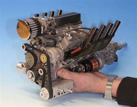 working mini v8 engine kit model engineers gary conley