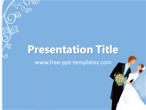 wedding ppt template free powerpoint templates
