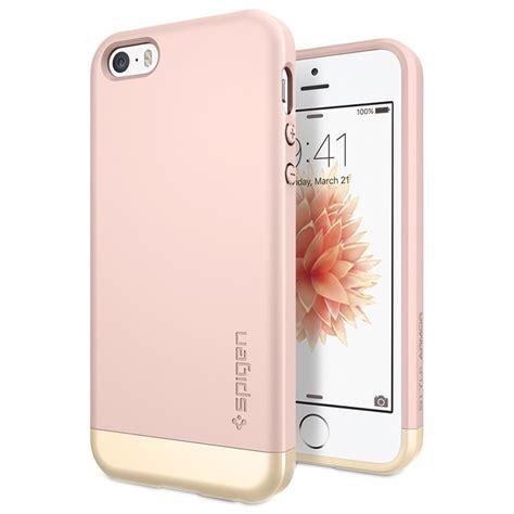 Bumper Iphone 5 5s Pink iphone 5 5s se spigen style armor gold