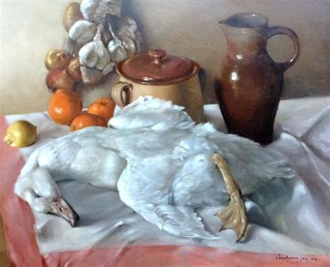 still life with duck home office jan verschaeren 20th c still life with duck catawiki