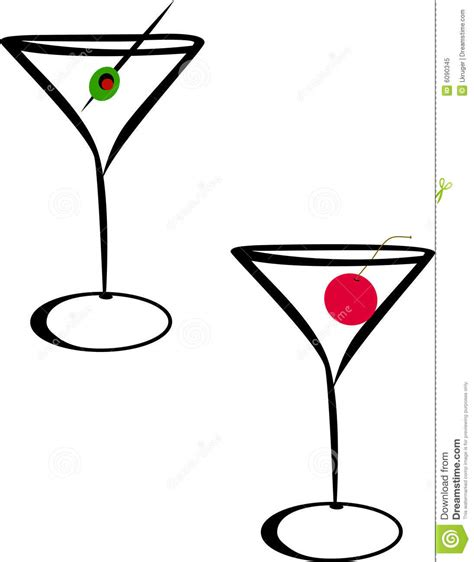 martini cartoon clip art martini glasses royalty free stock photo image 6090345