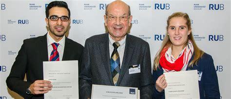 Bewerbungsfrist Deutschlandstipendium 2015 Ruhr Universit 228 T Bochum