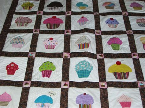 Cupcake Quilt by Finished Cupcake Quilt For Dd S B Day